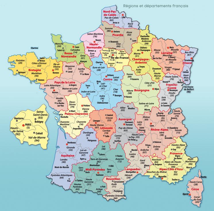 Top Résultats de recherche d'images pour « France carte » | Voyage  VR42