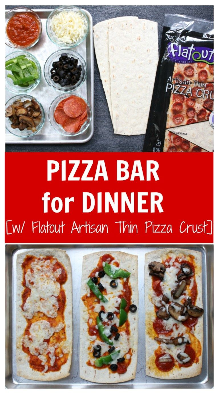 Build Your Own Pizza Bar For Dinner Mom To Mom Nutrition Pizza Dinner Pizza Bar Pizza Dinner Party