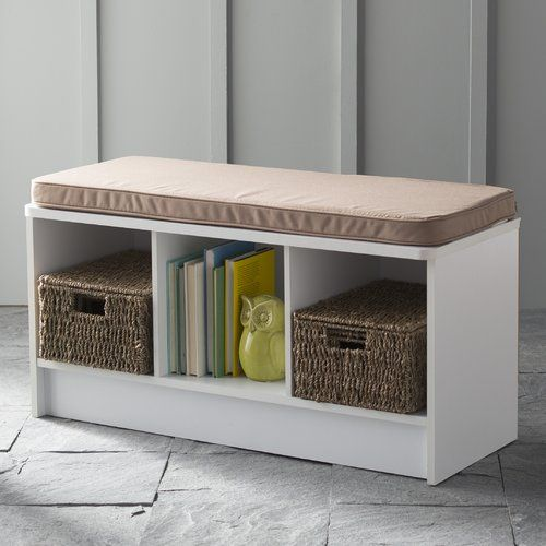 Closetmaid 3 Cube Bench Multiple Finishes Ad Cube Sponsored Closetmaid Bench Storage Bench Bench With Storage Bench With Shoe Storage