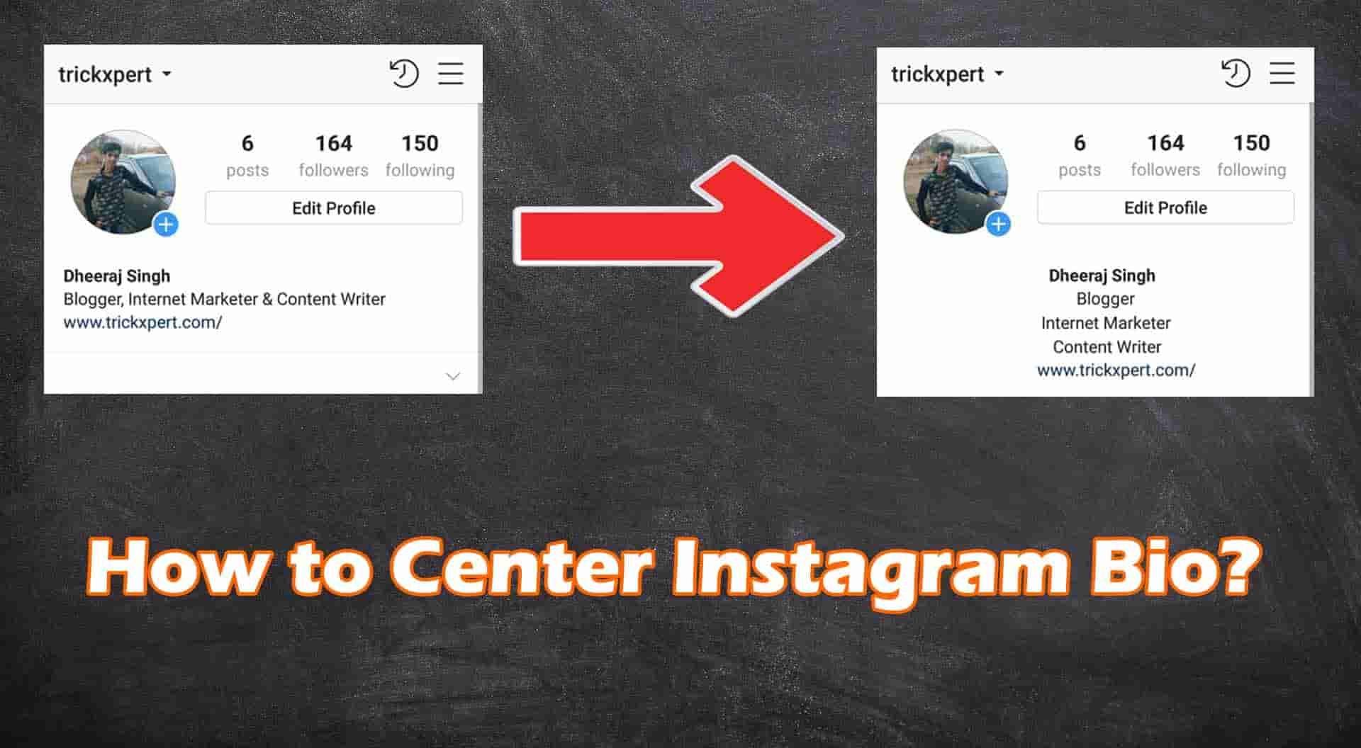 How To Center Instagram Bio For Attractive Profile