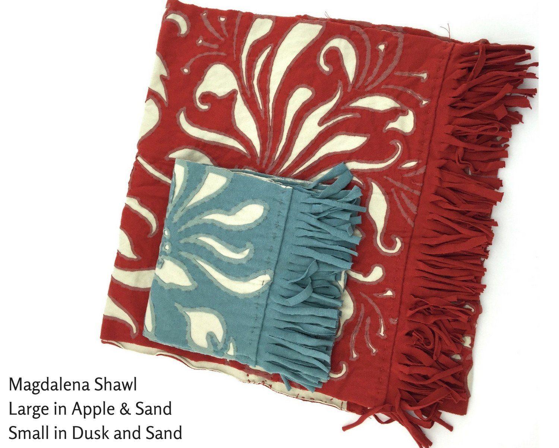 Alabama chanin make your own shawl diy kit alabama chanin