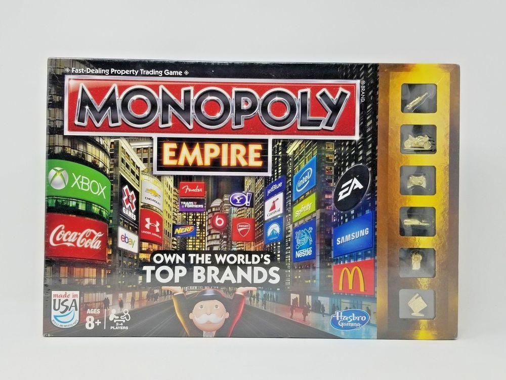 Monopoly Family Board Game Brand New Sealed