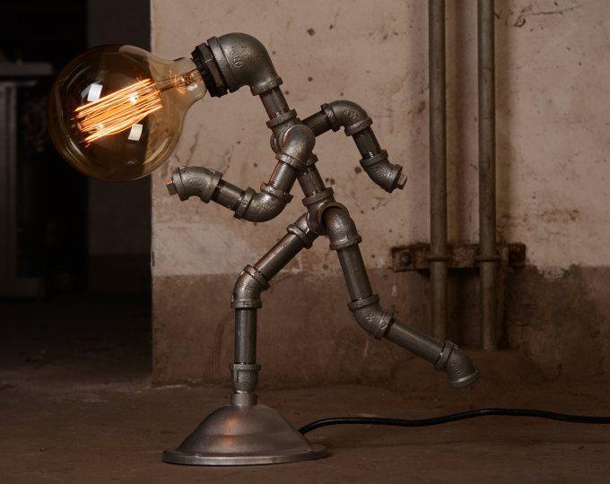 Ebe designer industrial lighting steampunk lamp table lamp edison
