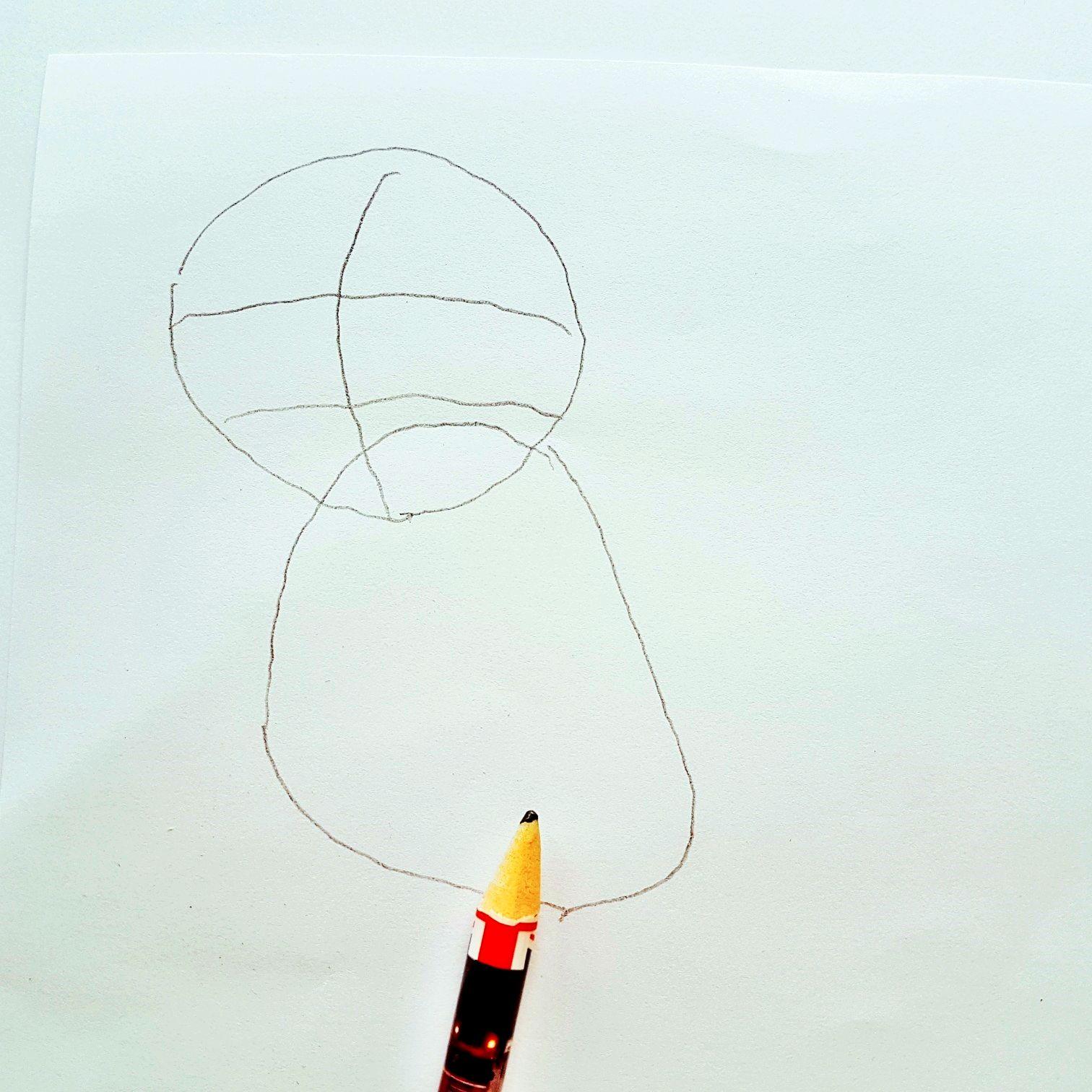 Anleitung zum zeichnen von dem Pokemon Glumanda