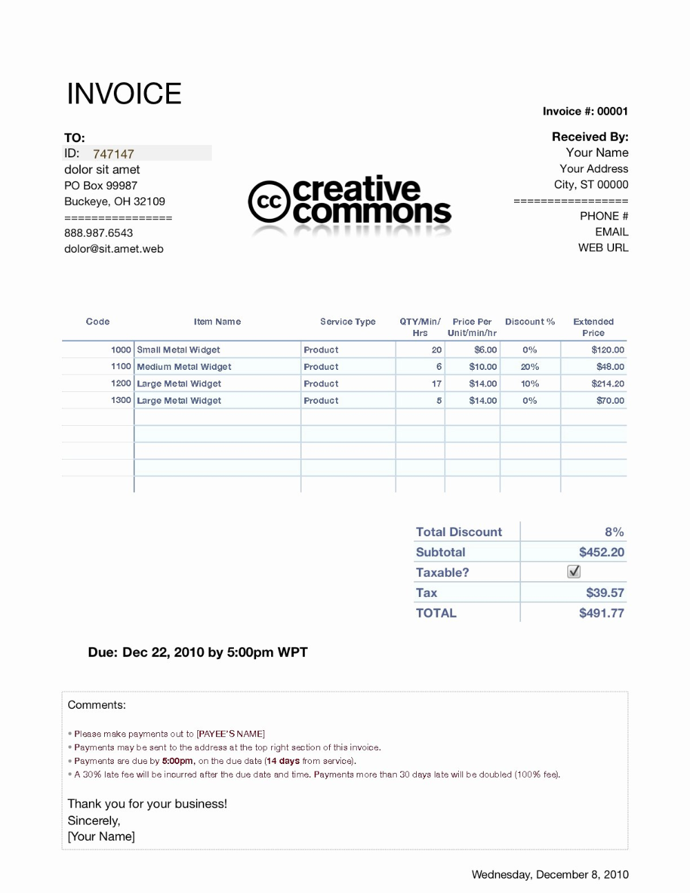 Invoice Template For Ipad Download Wfacca Intended For Invoice Template Ipad 10 Professional Templates Invoice Template Invoice Example Business Template