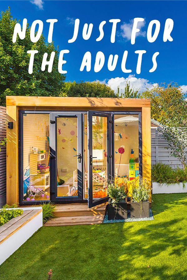 Not Just For The Adults - Children Too | Backyard sheds ...