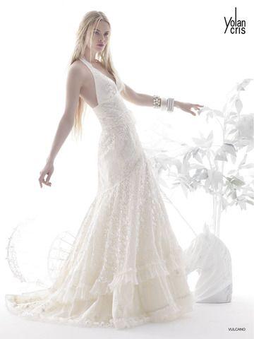 Comprar vestido novia yolan cris