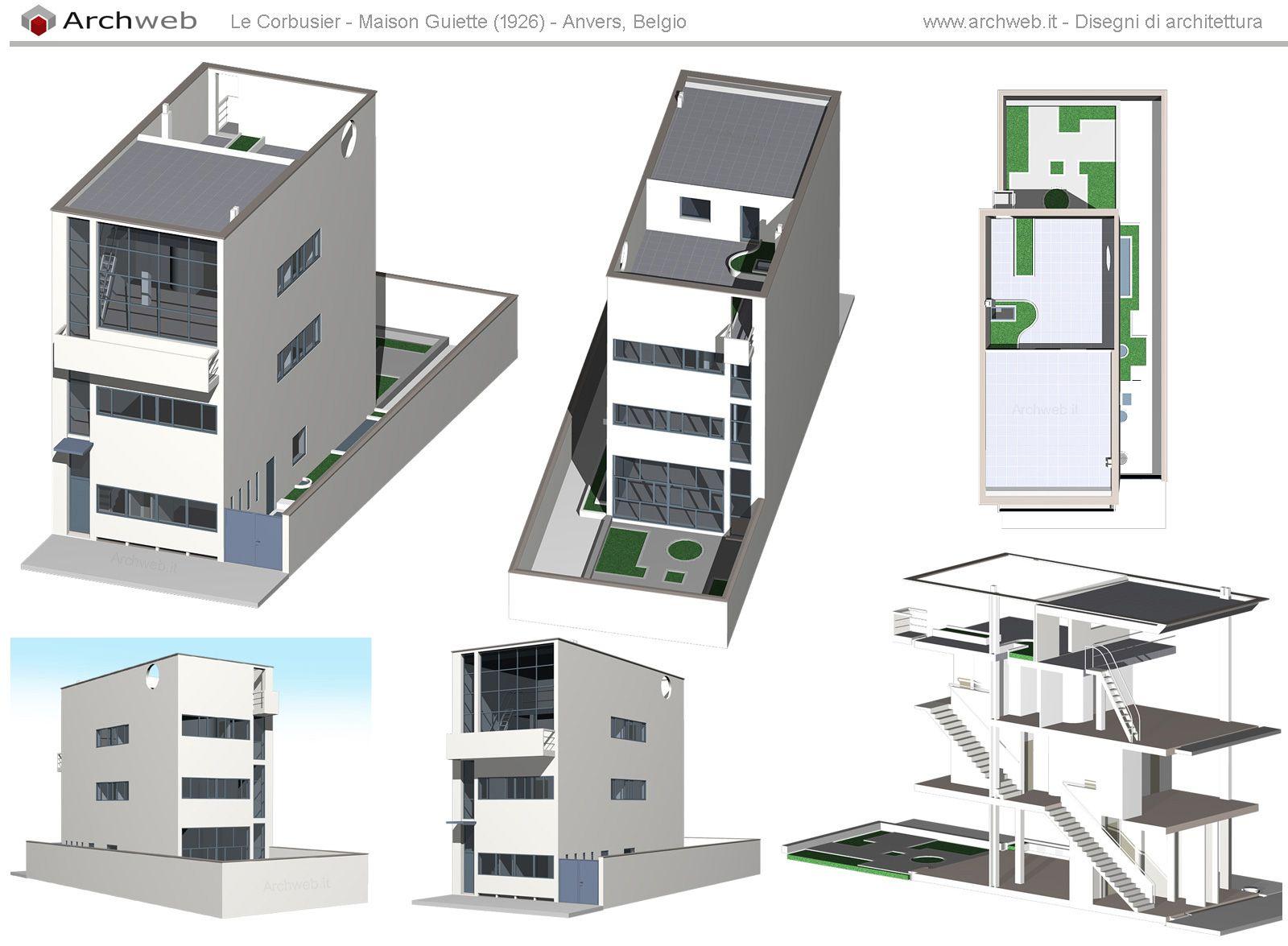 Maison guiette 3d model maison guiette pinterest for Site 3d maison