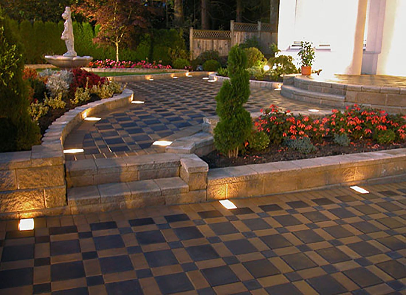 By Selecting The Outdoor Paving Appearance, You Must Know About The Patio  Block Patterns Application