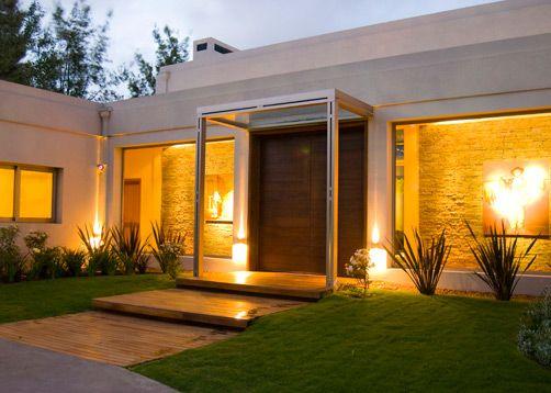 Fachada por el arquitecto gustavo andr s eguiluz m s for Portal de arquitectos casa de campo