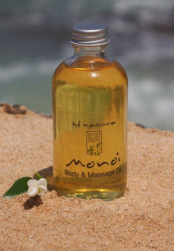 Monoi de Tahiti Body and Massage Oil 4oz 100 Natural by ...