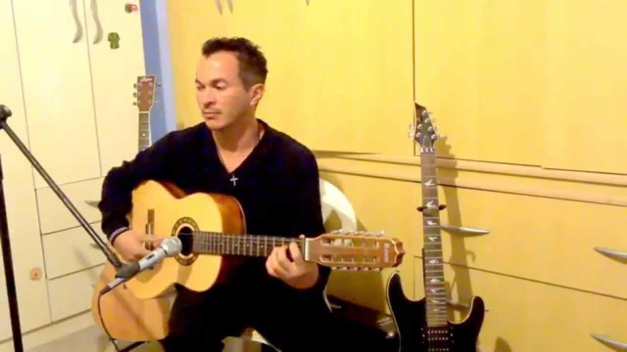 solo cover viola musica tocando em frente by augusto oliveira