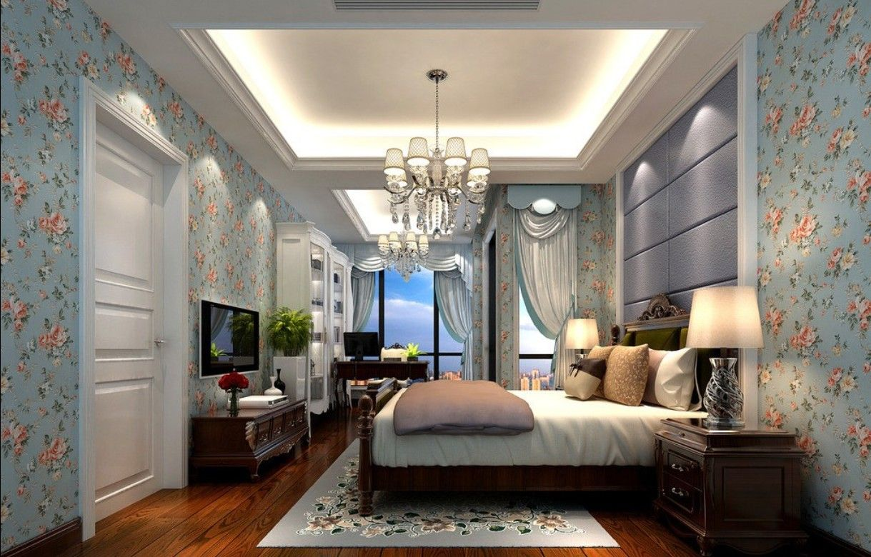 25 Accent Wall Ideas You Ll Surely Wish To Try This At Home Tags Accent Wall Accent Wall Wallpaper Bedroom Patterned Wallpaper Bedroom Accent Wall Bedroom