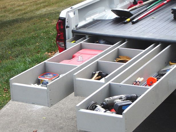 how to install a truck bed storage system | truck bed storage
