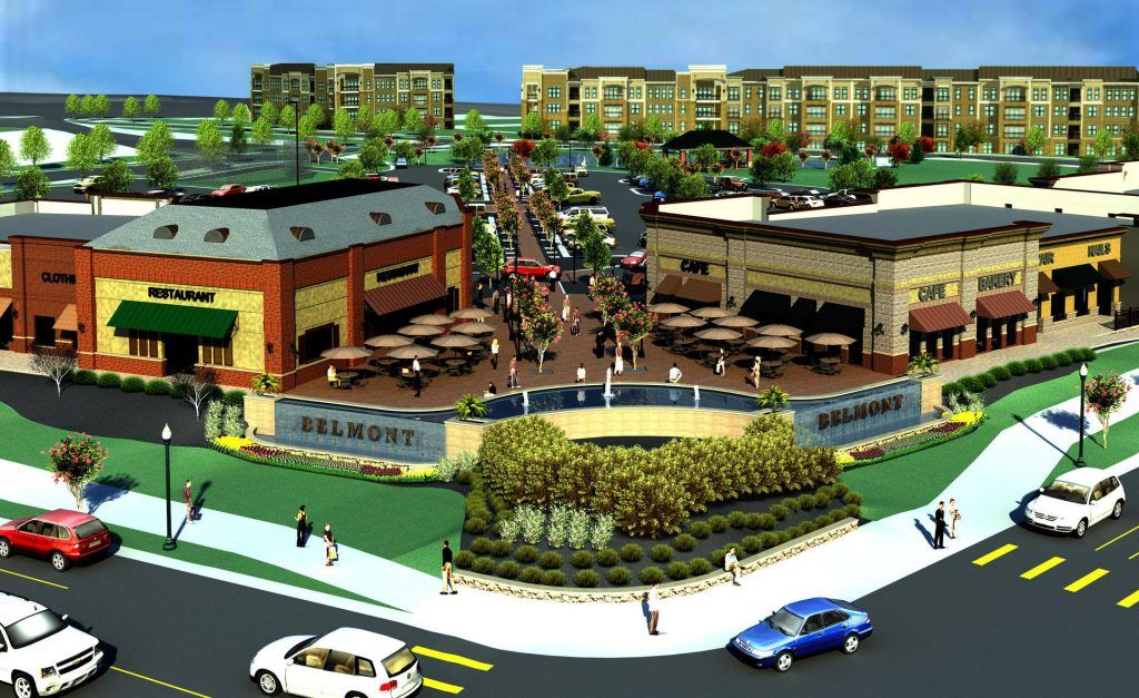 The Shops At Belmont Are Looking To Be Open This September At The Intersection Of Windy Hill Road And Atlanta Road In Smyr Smyrna Belmont Apartment Communities