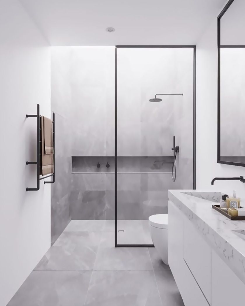 Photo Salle Bain Moderne salle de bain moderne : idées déco et inspiration | salle de