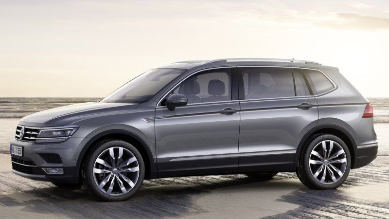 Volkswagen Tiguan Allspace Makes Euro Debut With Tdi Engine Options Volkswagen New Suv Suv Prices