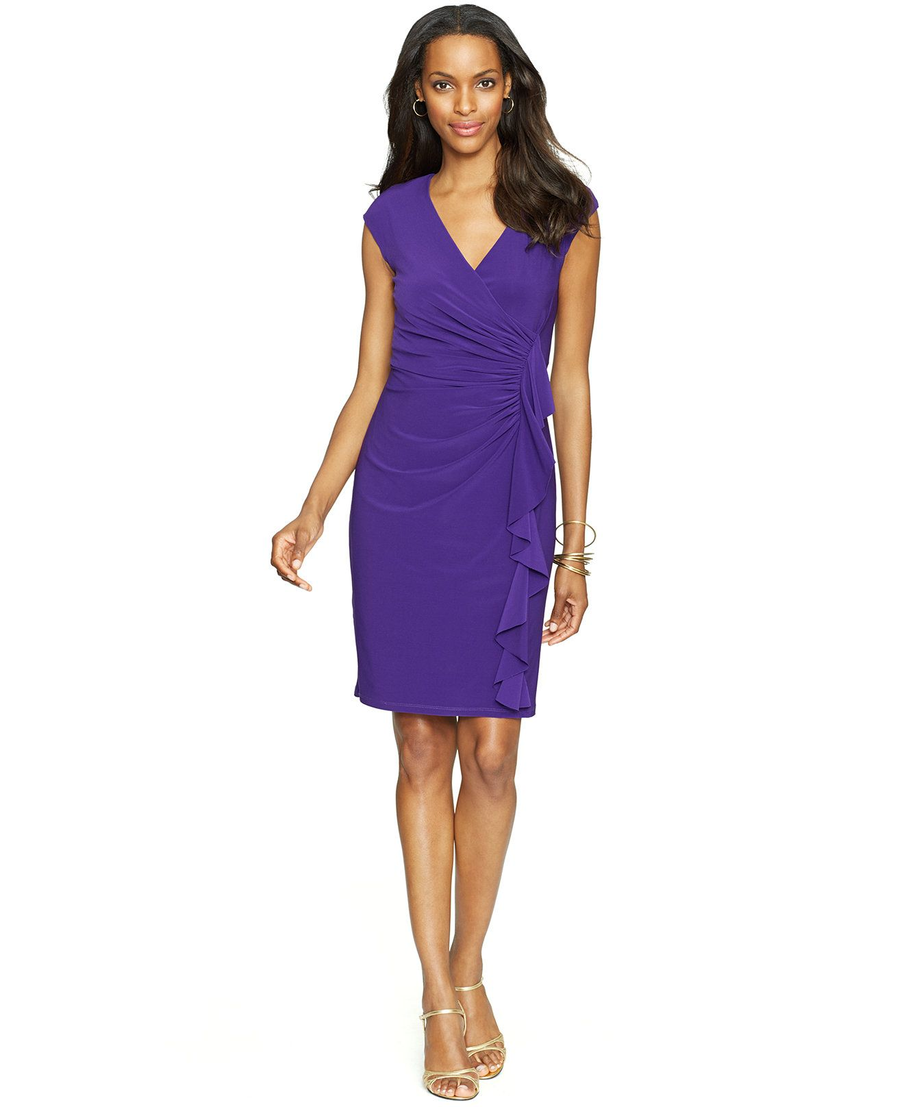 macy\'s purple dress american living - Google Search | Orlando city ...