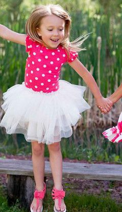 Bunnies Picnic - Stella Industries Nice Tutu Dress in Poppy - Boutique Clothing for Girls and Boys