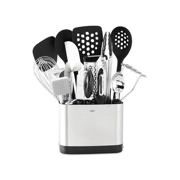Oxo 15 Piece Kitchen Tool Set 100 Liked On Polyvore Featuring Home Kitchen Dining Kitchen Gadgets Kitchen Tool Set Oxo Kitchen Utensils Oxo Utensils