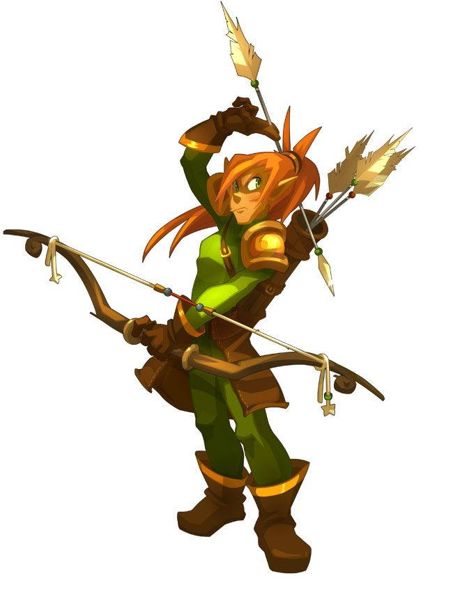 Cra Male From Dofus 2 0 Comic Style Art Character Design Male Character Art