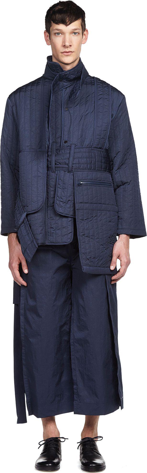 Quilted Ww Jacket Craig Green Loit Fashion Menswear Conceptual Fashion