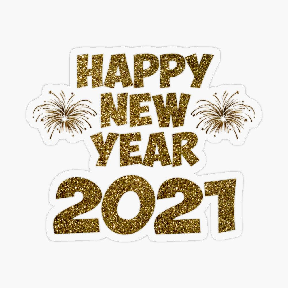 Happy New Year 2021 Transparent Sticker By Nannadesign In 2021 Happy New Year Stickers Happy New Year Banner Happy New Year Wallpaper