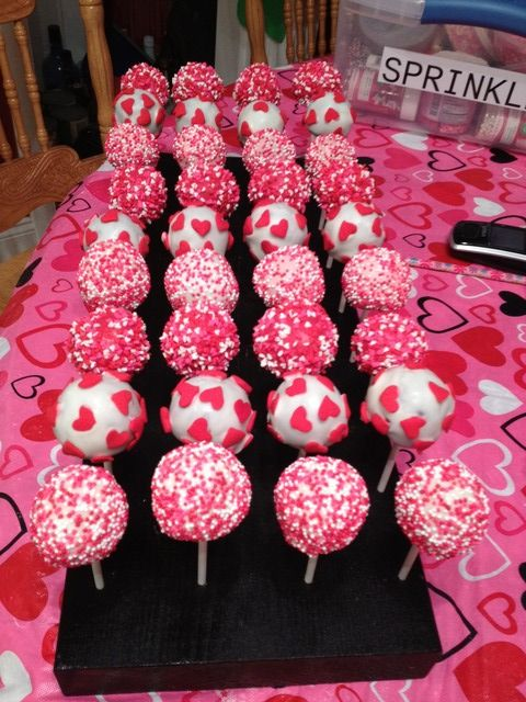 Valentine S Day Cakepops So Cute 3 With Images Valentine
