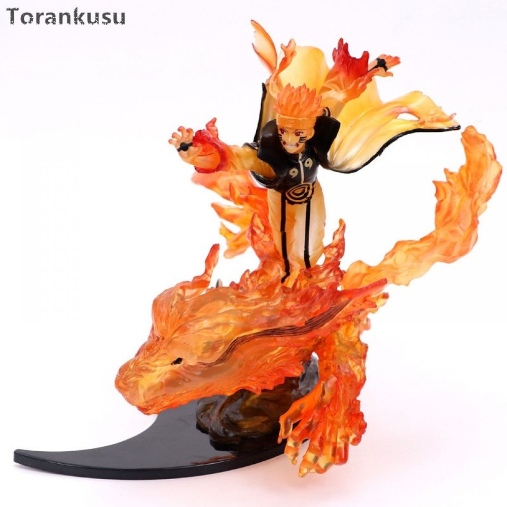Naruto Action Figure 200mm Pvc Toy Anime Nartuo Shippuden Uzumaki