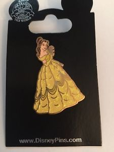 Disney Glitter Gowned Belle Trading Pin.BEAUTY & THE BEAST!AUTHENTIC!RARE!