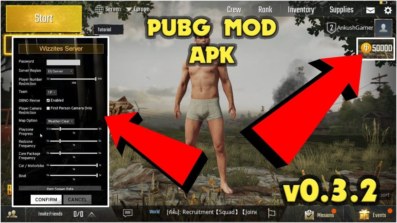 Unlimited Coins For Pubg Mobile Tencent Pubg Playerunknownbattlegrounds Android Hacks Download Hacks Hack Free Money