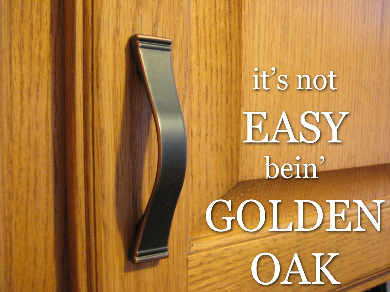 Golden Oak Kitchen Cabinets Painting Wood Furniture