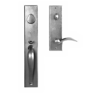 In Oil Rubbed Bronze This To Match The Continental Dead Bolt Curved Handle Amy 263 50 Continenta Door Handles Front Entry Doors