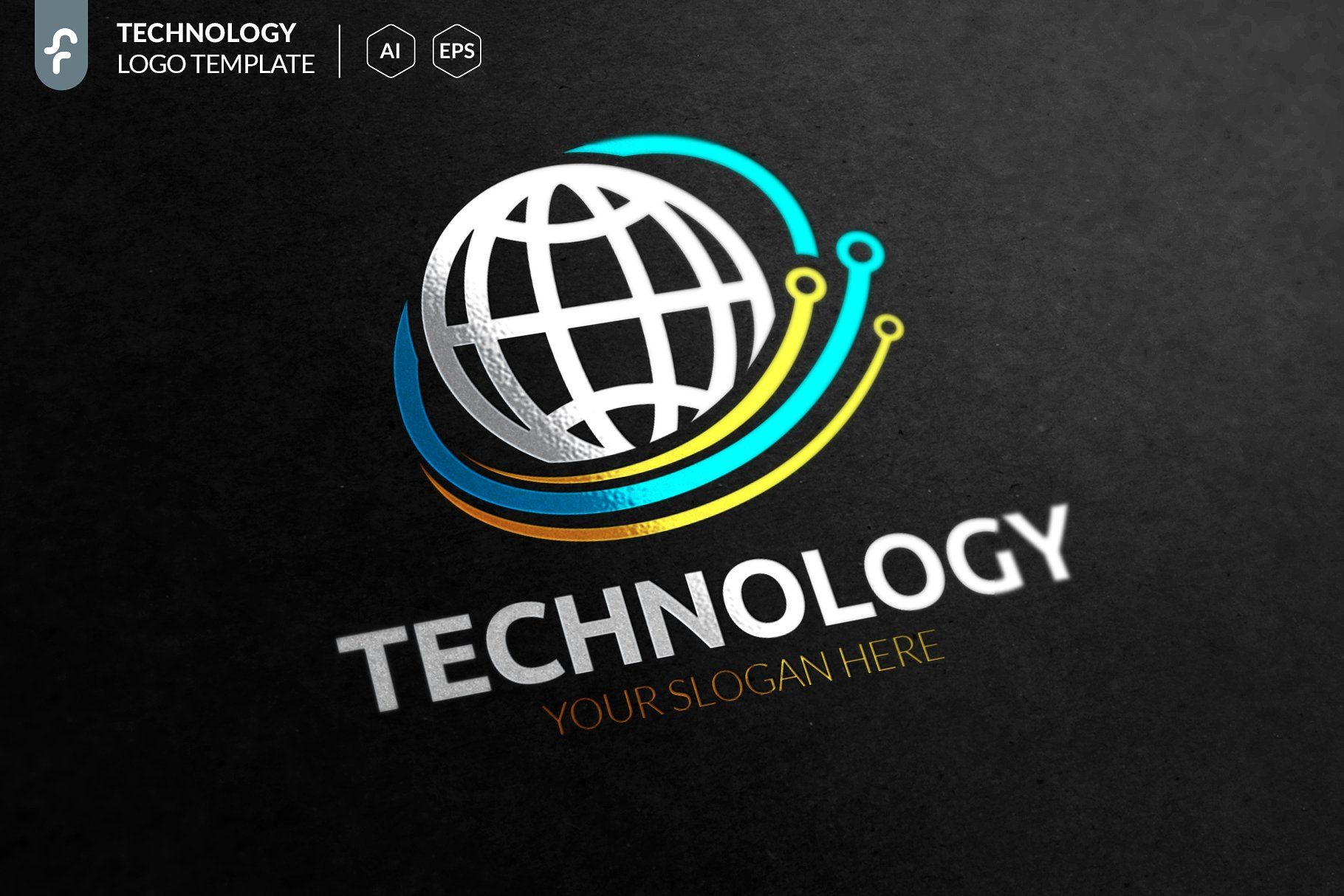 Technology Logo TechnologyLogoTemplates デザイン