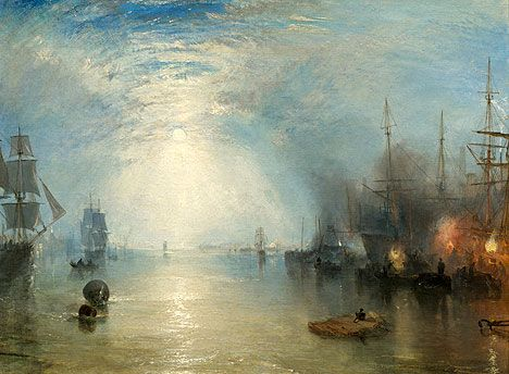 john turner, england | Turner's Keelmen Heaving Coals by Night (1835) © Image courtesy the ...