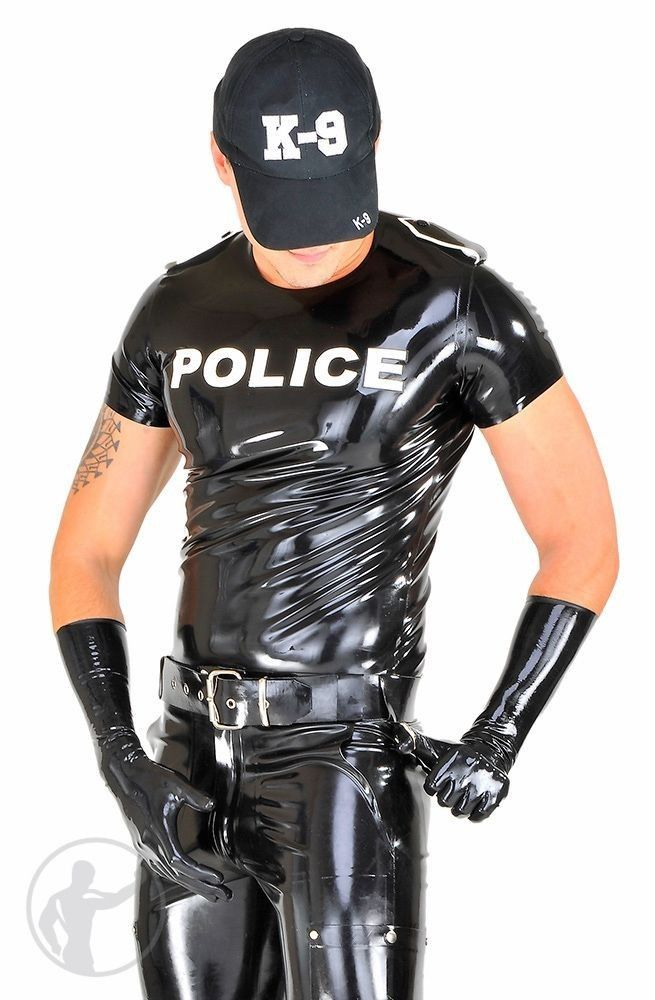 Pin By Glovd Cop On Men In Rubber GC Leder