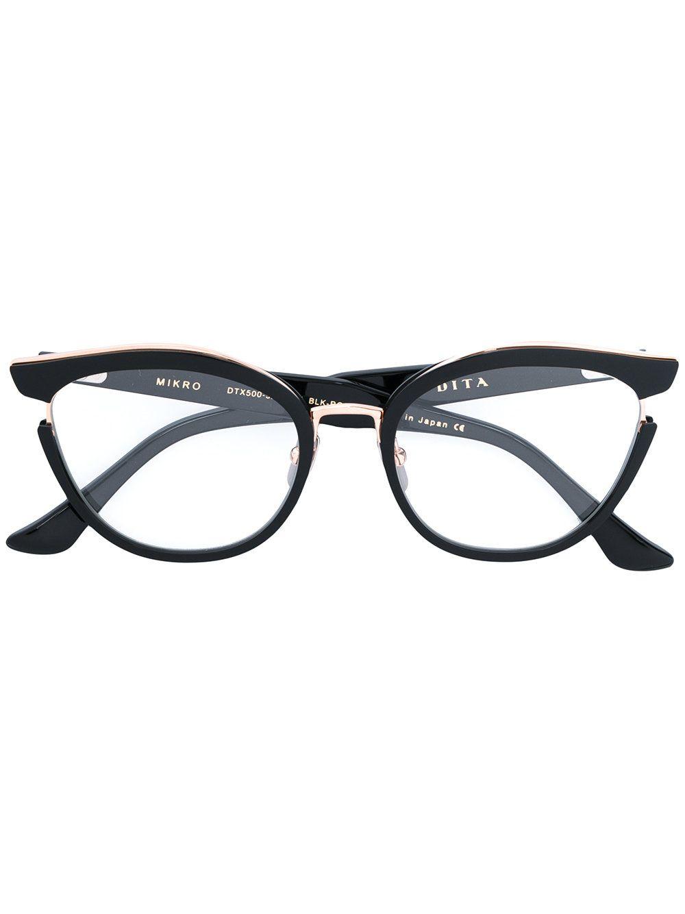 b68aa706f13 Dita Eyewear Cat Eye Glasses
