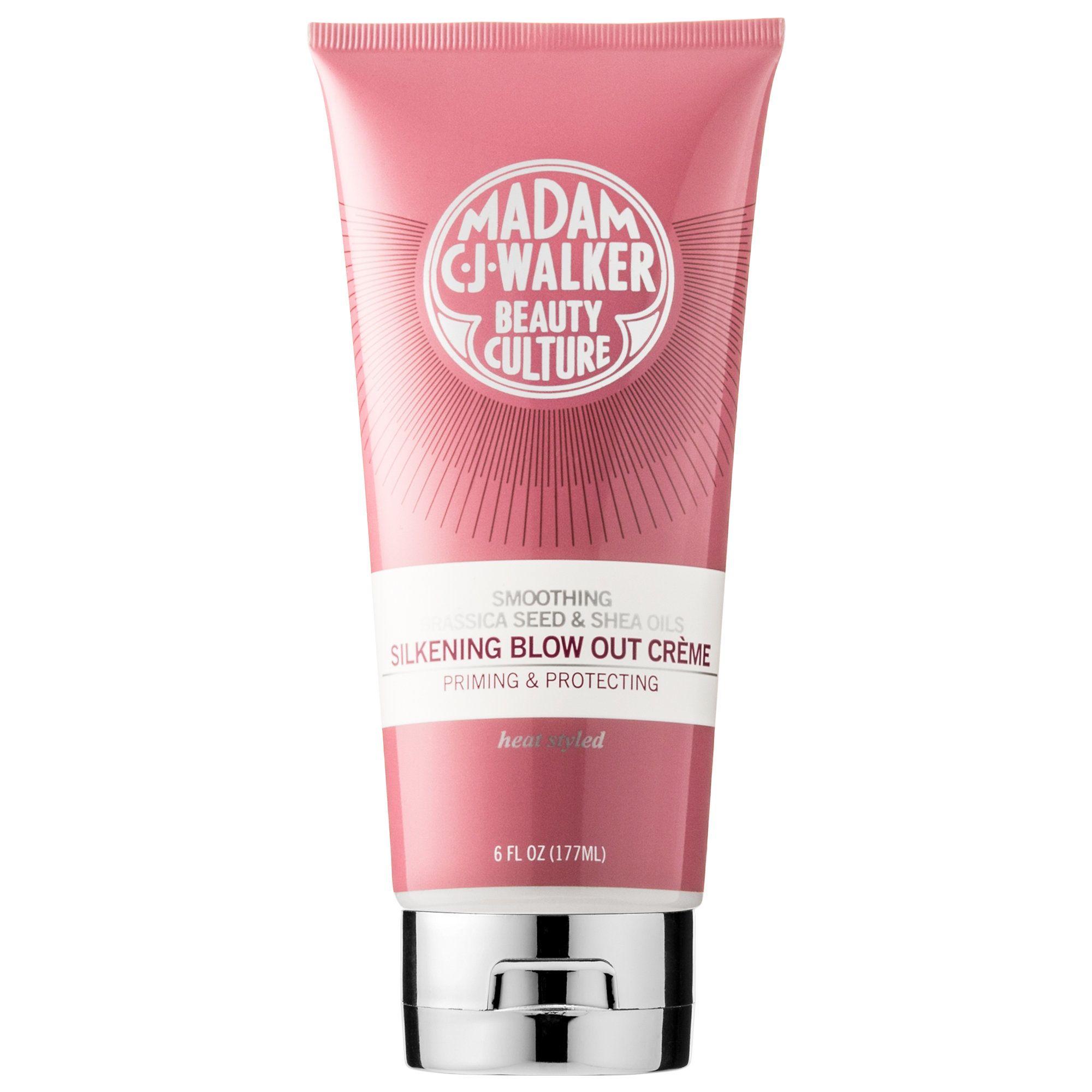 Shop Madam C J Walker S Bcreme At Sephora The Heat Protective Cream Creates A Smooth Easy Brush Glide Blowout Cream Sephora Madam Cj Walker