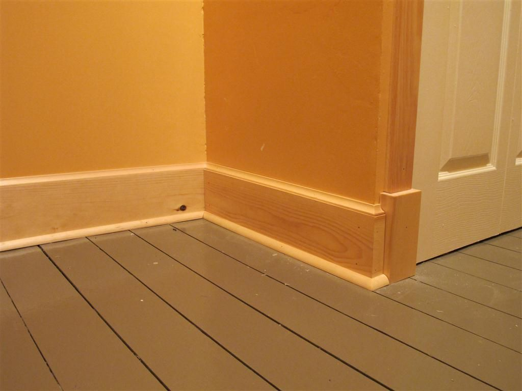homemade trim | Home Renovations | Baseboard styles, Modern