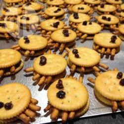 Cracker Spinnen Recipe Ideen Für Halloween Rezepte Und