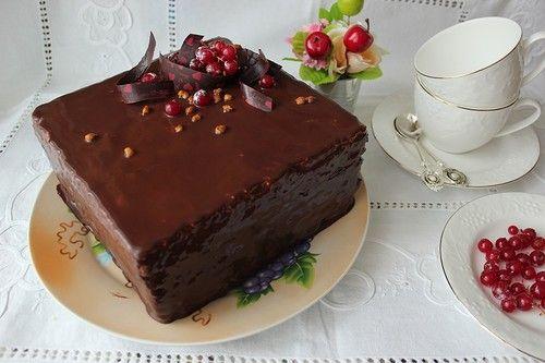 ШВАРЦВАЛЬДСКИЙ ТОРТ ,по рецепту Вики kinda_cook. Не устояла,уж очень соблазнительным он мне показался.И я не ошиблась, торт действительно роскошный. Вика спасибо за рецепт. Рецепт,лова автора: Рамка для торта 18х18 см ИНГРЕДИЕНТЫ: Вишни: 250 г свежих вишен (можно взять и замороженные) 100 г Кирша…