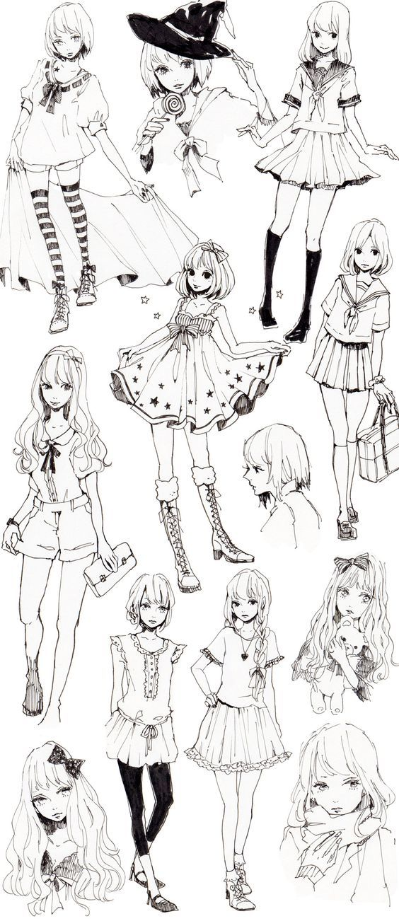 111 Insanely Creative Cool Things To Draw Today Manga Clothes Manga Drawing Character Design