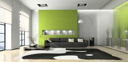 Lime Wall Color Combination For Living Room The Interior Design Inspiration Board Green Living Room Decor Living Room Green False Ceiling Bedroom