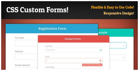 Responsive Form Framework  Forms Plus Css   Css Contact Forms