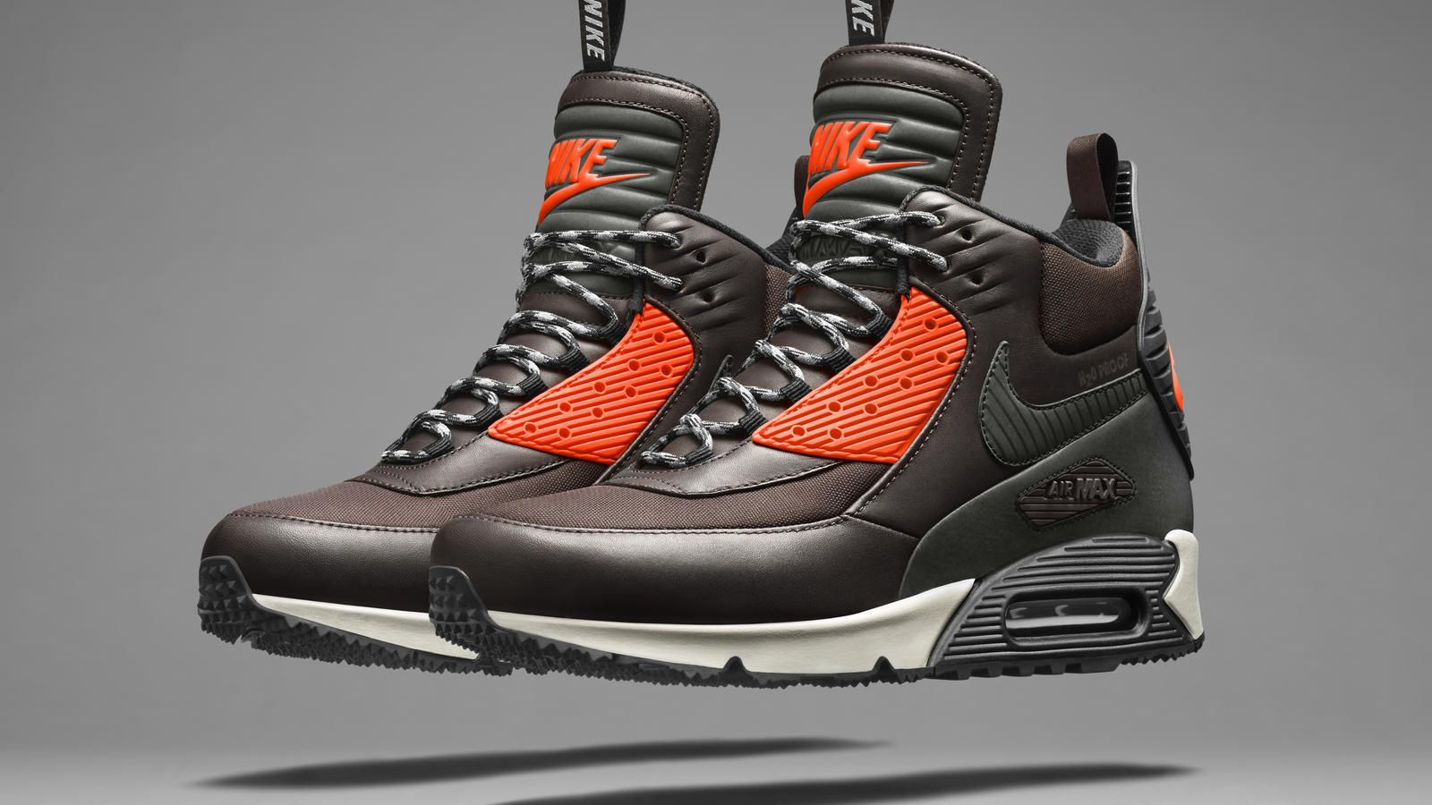 reputable site c6a2d e66f4 NIKE, Inc. - Bad Weather Gets Stomped  The Nike SneakerBoot Collection - Nike  Air Max 90 SneakerBoot.