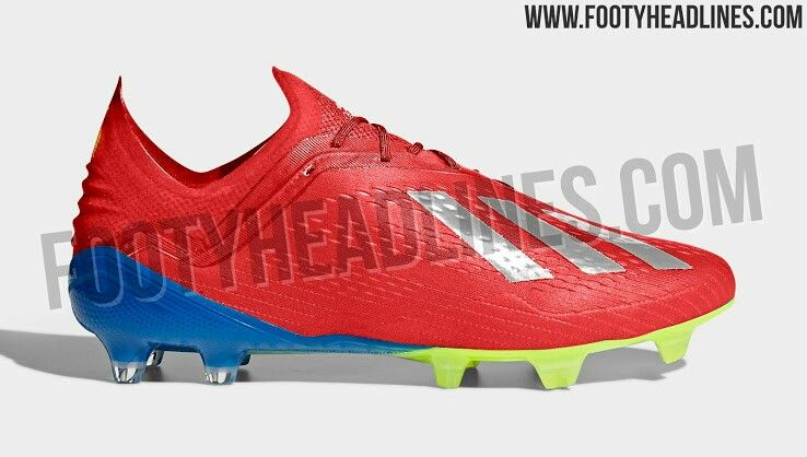 Crazy red  silver  blue  yellow adidas x 18.1 2019 boots leaked ... f29809de31c58