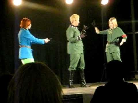 J-popcon 2009 Cosplay Group #25 - Hetalia: Axis Powers - Italy, Germany,...