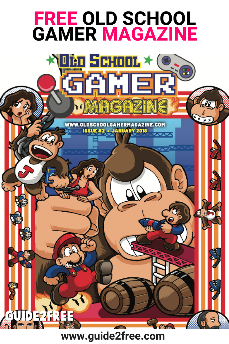 FREE Old School Gamer Magazine | FREE Magazine Subscriptions & Free