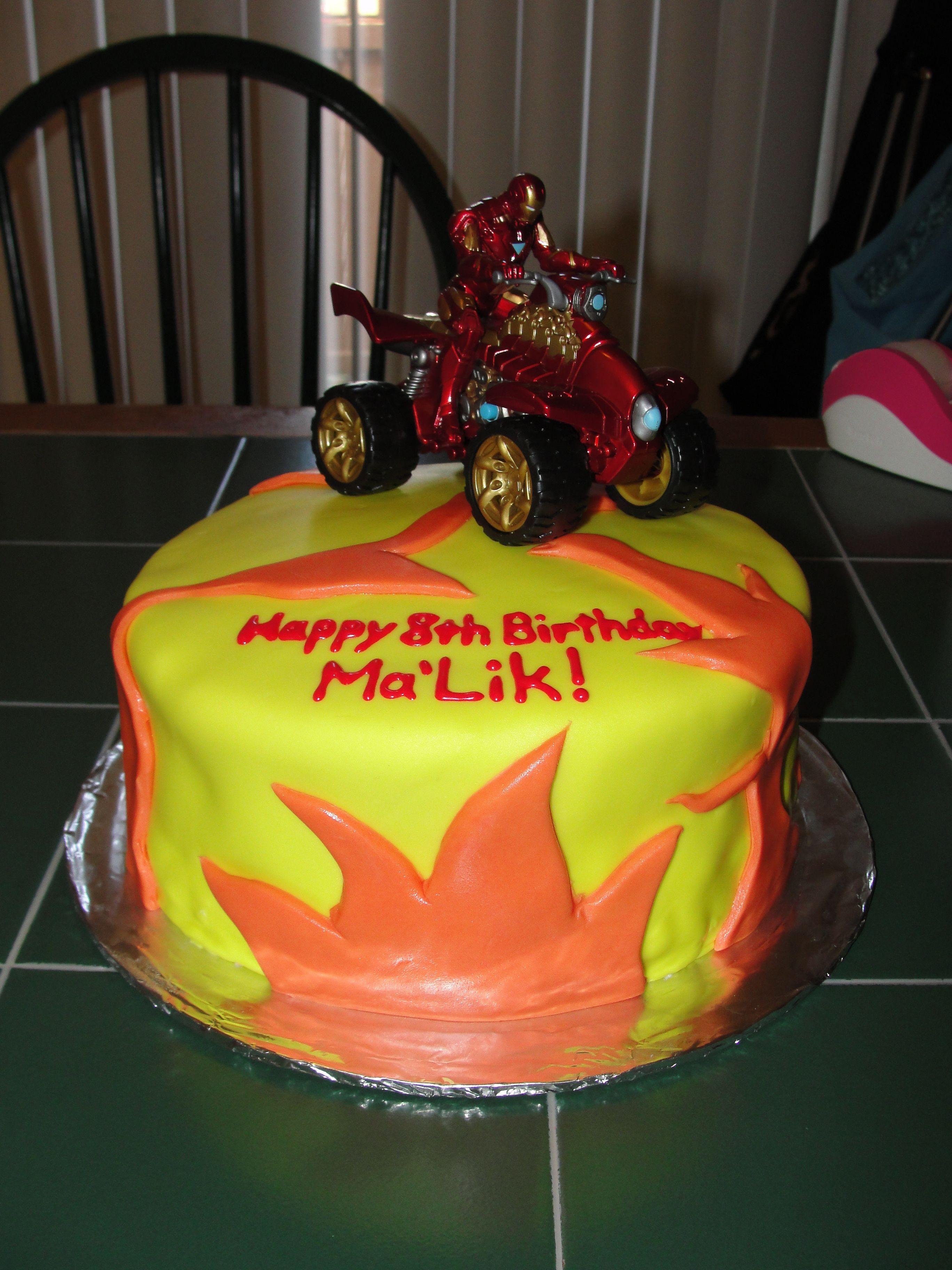 Iron man cake ironman cake