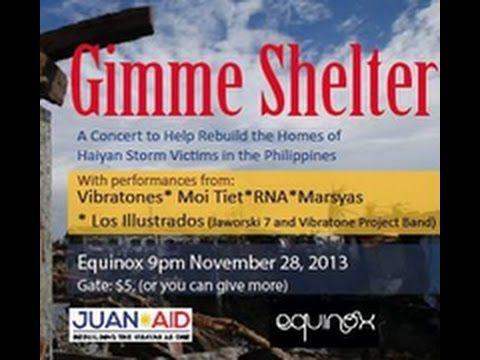 Vibratone Moi Tiet! RNA Marsyas Los Illustrados Gimme Shelter Benefit 4 ...